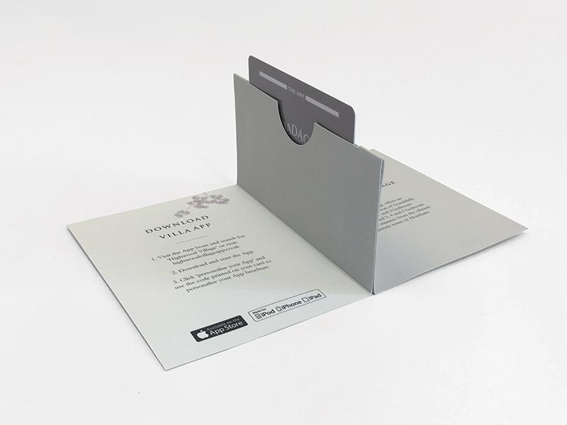 Pop Up Card Wallet Open