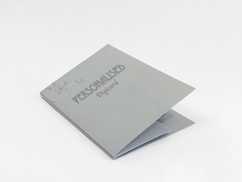 Pop Up Card Wallet Folded